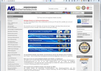 Händler-Shop für Sicherheitstechnik
