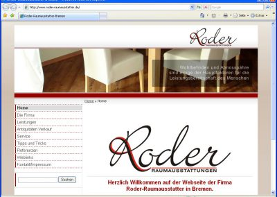 Raumausstatter Roder in Bremen