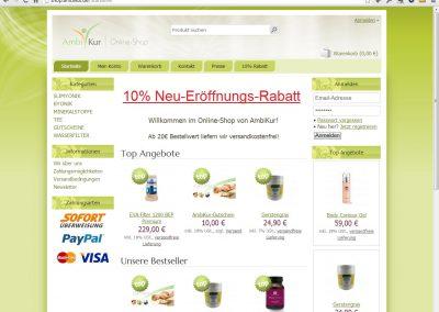 Ambikur-Shop für hochwertige Kosmetik