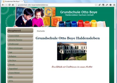 Grundschule Otto Boye in Haldensleben