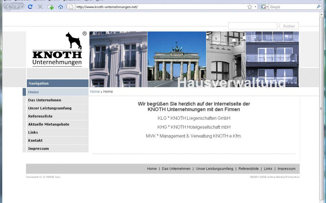 Hausverwaltung Knoth in Berlin