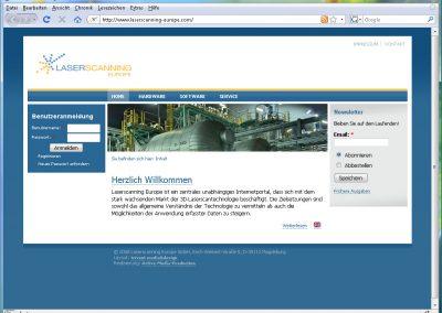 Laserscanning-Europe, High-Tech-Unternehmen aus Deutschland