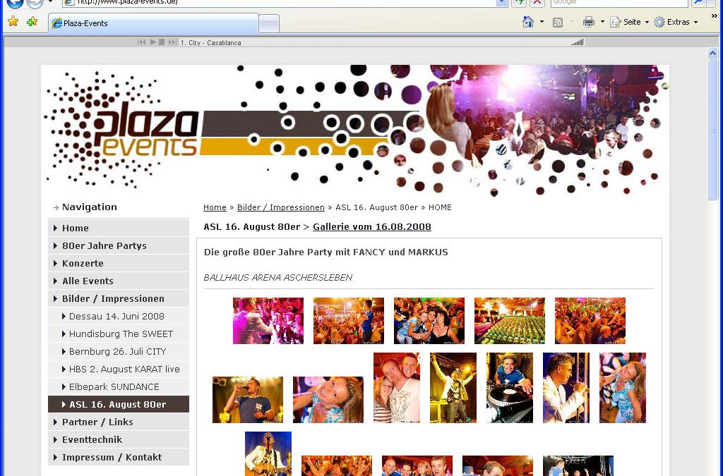 Event-Veranstalter Plaza-Events