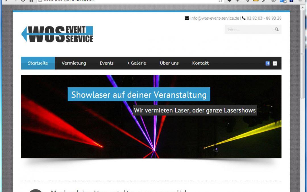 Webseite für WOS-Event-Service UG