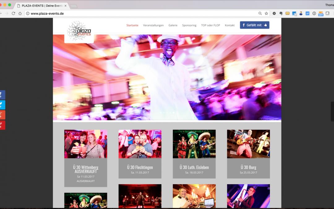 Plaza-Events – Veranstalter für Ü30 Partys und Disco-Events